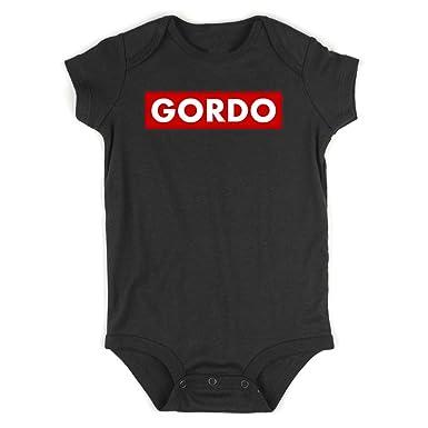 Amazon.com: Traje de baño para bebé, diseño de Gordo: Clothing