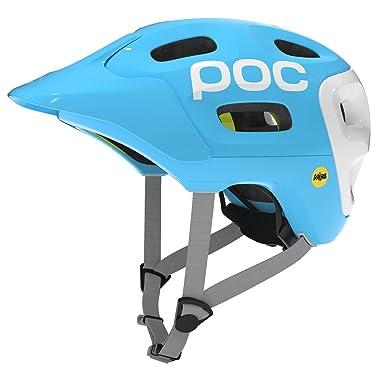 POC Trabec Race MIPS - Casco MTB para hombre, color azul, talla XL-