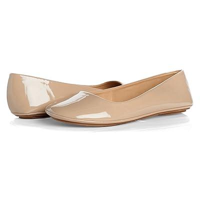 Soda Women's Afar Basic Round Toe Slip On Ballet Flats | Flats