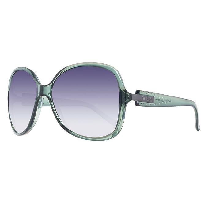 Guess Gafas de Sol GU0222F 60M77 (60 mm) Verde