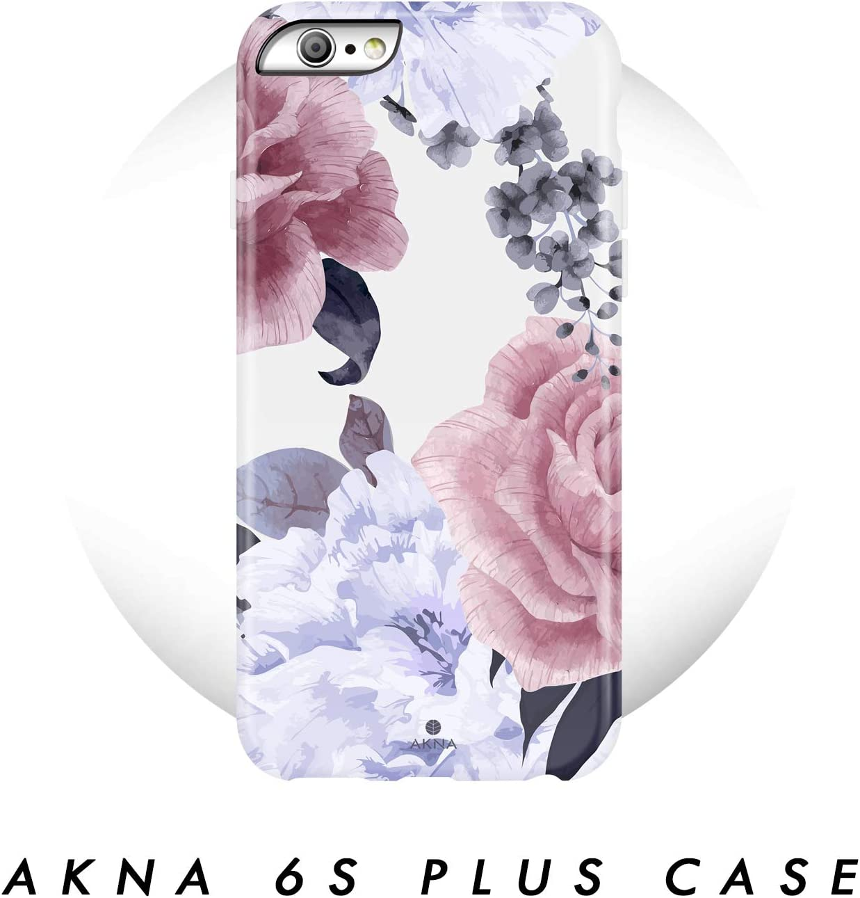 Amazon Com Iphone 6 Plus 6s Plus Case Flower Akna Collection