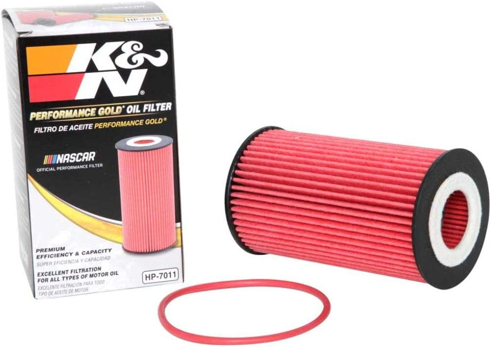 K&N Premium Oil Filter: Designed to Protect your Engine: Fits Select PORSCHE Vehicle Models (See Product Description for Full List of Compatible Vehicles), HP-7011