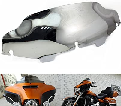 Smoke 6 Motorcycle Windshield Windscreen For Harley Touring Electra Street Glide 1996-2013