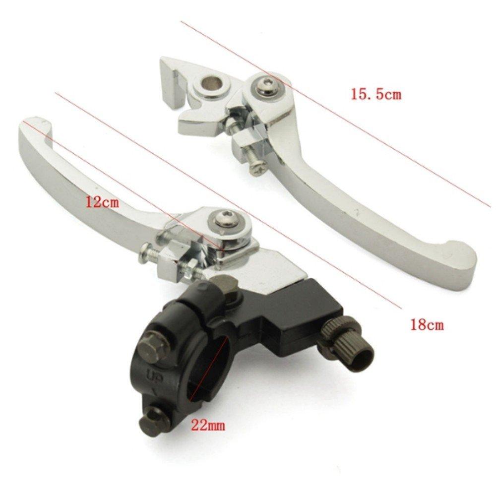 22mm 7//8 Zoll Lenker Kupplungshebel für Pit Dirt Bike Motorrad ML