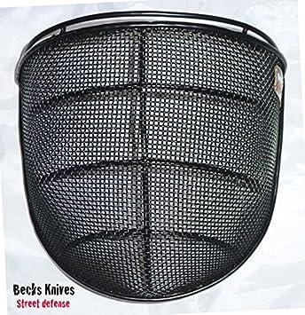 Visor de metal para casco - casco de Kali Escrima Arnis ...