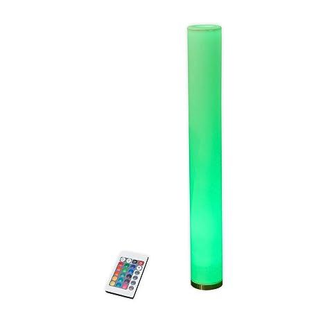 LED-Dekoleuchte Mirella Stehleuchte Lampenwelt GU10 RGB Fernbedienung Wohnzimmer