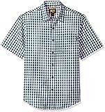 timberland inserts - Timberland PRO Men's Plotline Short-Sleeve Plaid Work Shirt, Navy Plaid, Large