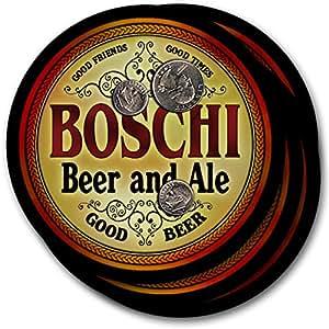 Boschi Beer & Ale - 4 pack Drink Coasters