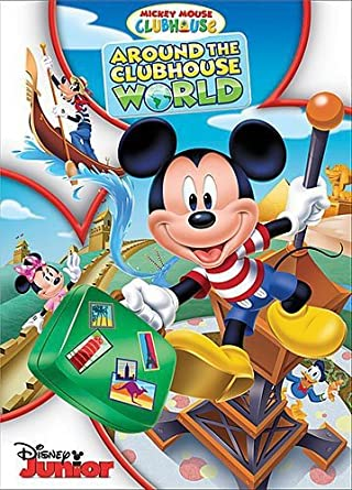 Amazon Com Disney Mickey Mouse Clubhouse Around The Clubhouse