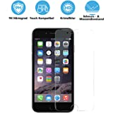 iPhone 6 Plus Panzerglas - Displayschutzfolie Panzerglasfolie Schutzfolie Hartglas Displayschutz Glasfolie Schutzglas Hartglasfolie