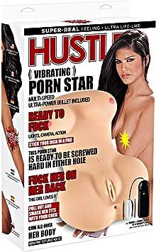 Amazon.com: Electric/hustler Lingerie Vibrating Porn Star ...