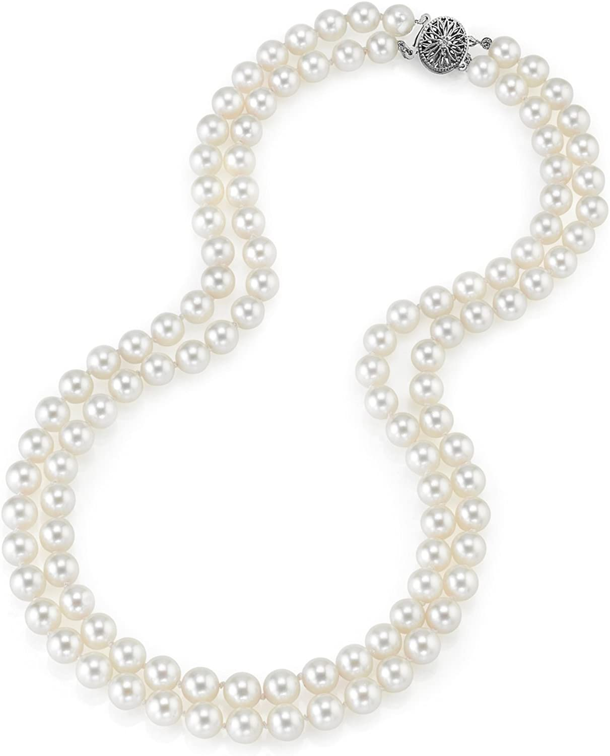 """18/"""" 10-11MM AAA+ GENUINE WHITE SOUTH SEA AKOYA PEARL NECKLACE"""