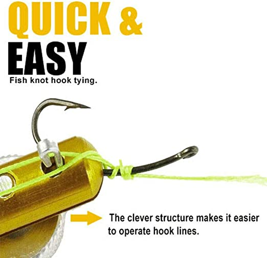 Stainless Steel Fishing Quick Knot Tying Tool Fishing Fast Knot Tool Practical