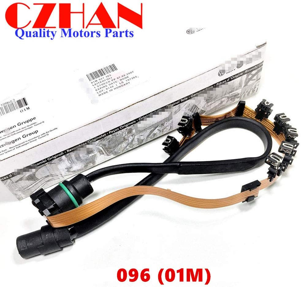 01M 096 095 G93 Automatic Transmission Internal Wiring Harness Ribbon Sensor Wire shift Solenoid for VOLKSWAGEN VW AUDI 01M325283A 01M 325 283 A 096927435A 01M325283A 01M325039F 01M325105F