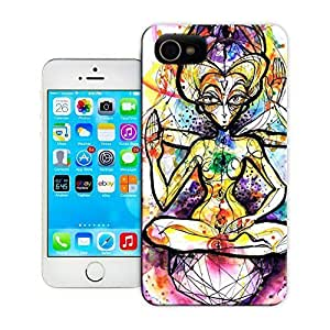 Unique Phone Case Women in the Arts This spiritual watercolor painting of a woman meditating was designed by Petra Hlav?¡ì?¨¦?kov?¡ì?¨¦ Hard Cover for 4.7 inches iPhone 6 cases-buythecase by rushername