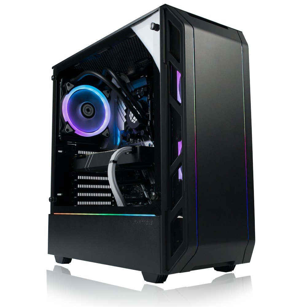 Amazon.com: XOTIC PC P350X Enthusiast Gaming Desktop PC AMD Ryzen 7 2700X 8-Core 4.3GHz Turbo, Nvidia Geforce RTX 2070 8GB, 16GB RAM, 250GB NVMe SSD + 2TB ...