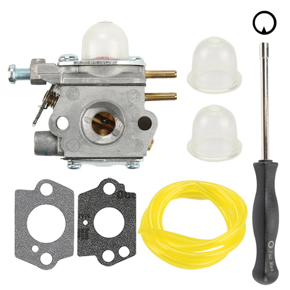 Hilom Wt 973 Carburetor With Adjustment Tool Fuel Line Bolens 1225 Wiring Diagram For Mtd Craftsman Trimmer Troy Bilt Tb21ec Tb22ec Tb32ec Tb42bc Tb80ec Ym21cs