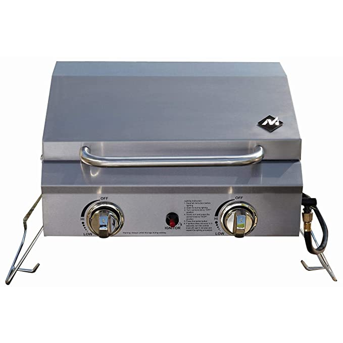 Members Mark Portable Stainless Steel Gas Grill with Cover