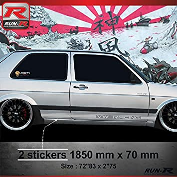Adn auto 60986 stickers 014 a custom sticker for vw golf 2