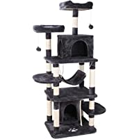 "POTBY 67"" Multi-Level Cat Tree Play House Climber Activity Centre Tower Stand Furniture"