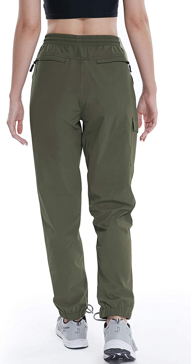VAYAGER Womens Hiking Cargo Pants Lightweight Quick Dry Joggers with Pockets