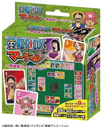 Amazon com: One Piece - Mahjong Mahjong style card game