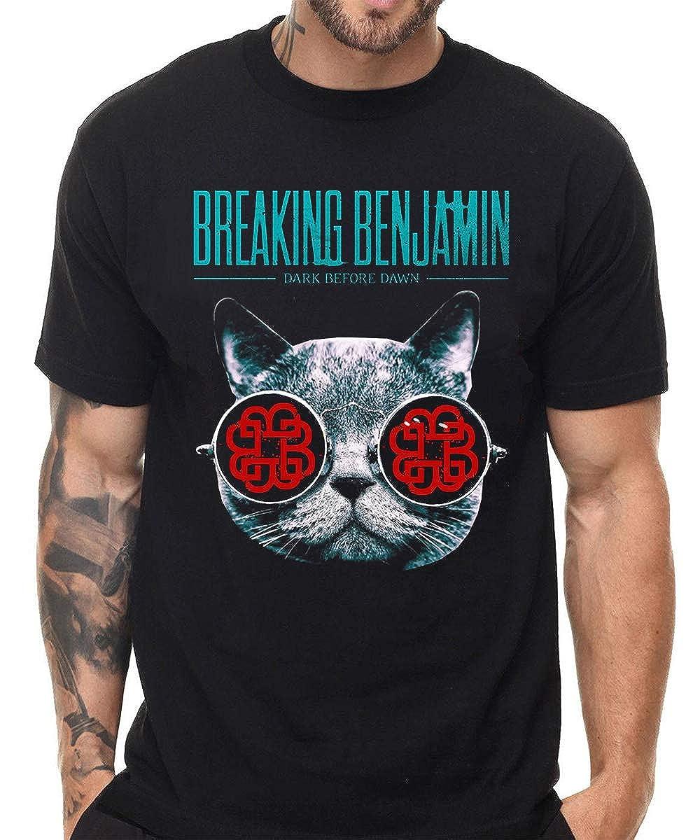 Breaking Benjamin Shirt Classic Short Sleeve Tees Shirts