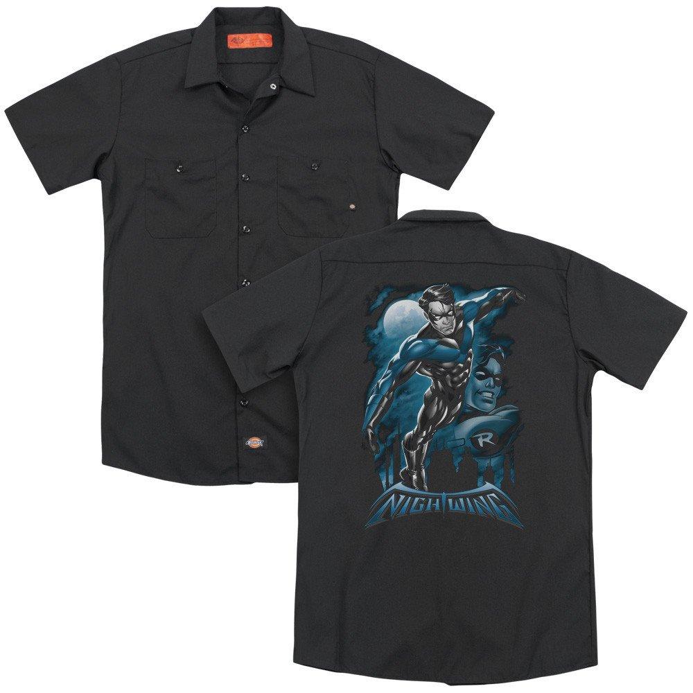 Batman All Grown Up Adult Work Shirt