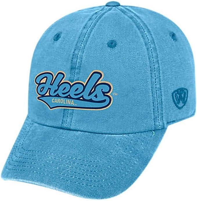 Top of the World North Carolina Tar Heels Mens Hat Icon Adjustable Blue