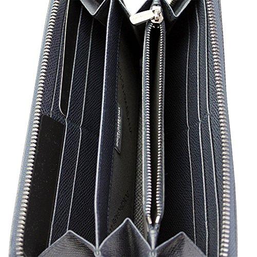 Around amp; Bp1672 Gabbana Zip Leather Long Men's Navy A1001 Dolce Wallet vA7TZ1pw1
