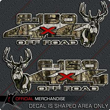 Realtree hunting buck deer camouflage camo ATV sticker decal logo truck car wall
