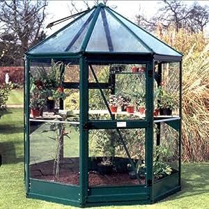 sw_FAWT Octagonal Nova Greenhouse Fawt 6ft X 6ft (1.93m X 1.93m), Natural