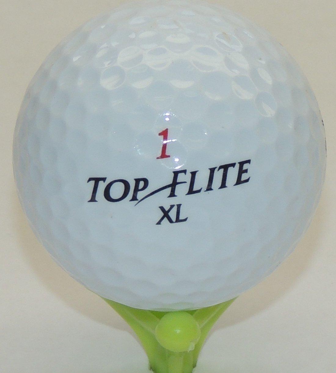 36 top-flite Grade AリサイクルゴルフボールギフトボックスFree Tee 's &磁気Smiley Faceゴルフボールマーカー/帽子クリップ   B00EW31EW4
