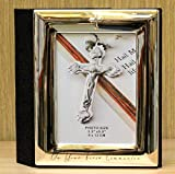 'Juliana Silverplated Album with Cross Icon - First Communion