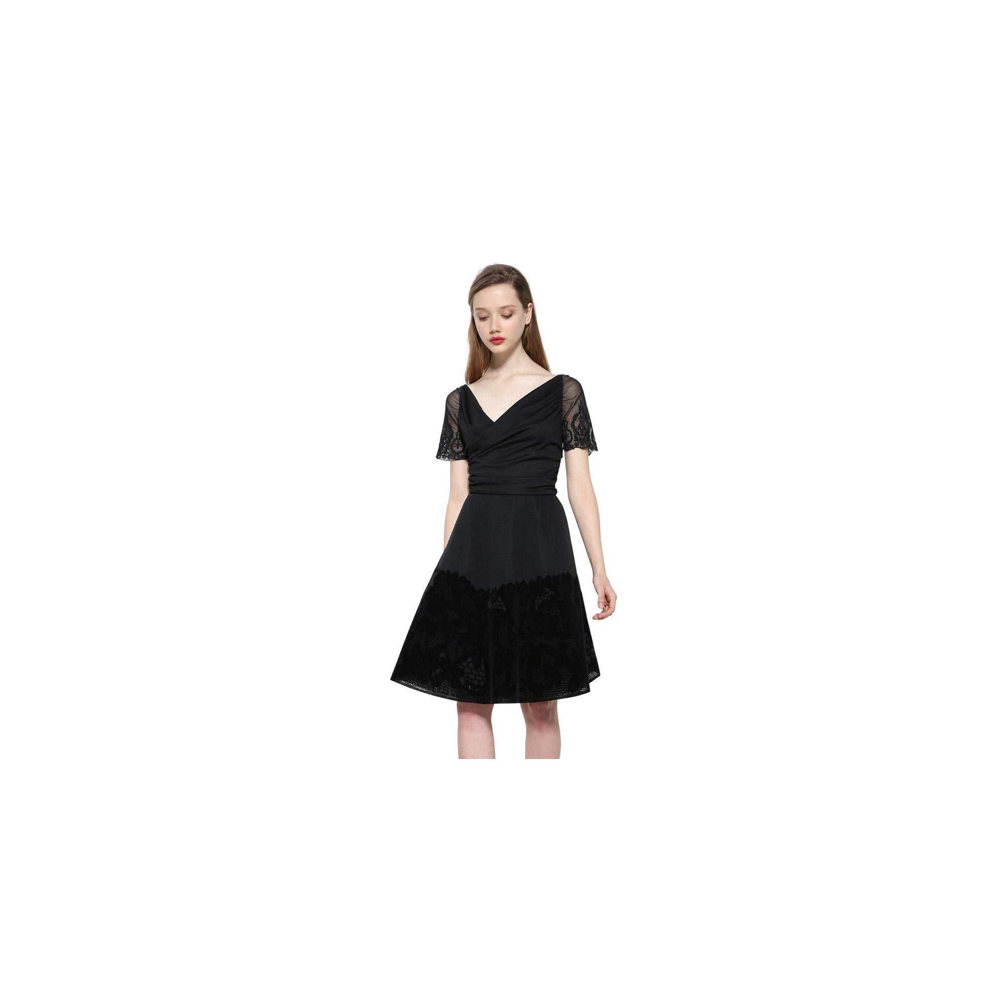 Desigual Robe Betty Noir 17wwvk68 Buy Online In Vanuatu At Desertcart