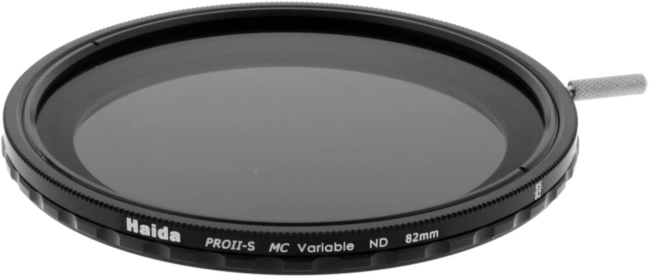 Haida 82mm PROII-S Multi-Coated Super Wide Angle Variable Neutral Density ND12-ND500 Filter