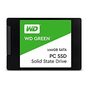 WD Green PC SSD - Disco Duro sólido de 120 GB (Serial ATA III, SLC ...