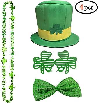 St Patricks Day Sequin Green Suspenders /& Bowtie Set Shiny Green Sequined Tie