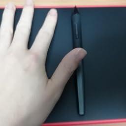 Amazon Co Jp Huionペンタブレット H3m Inspiroy Ink ペンタブレットと電子メモパッドの融合 携帯接続対応可能 傾き検知機能付き 筆圧8192充電不要ペン 11個のショートカットキーh3m コーラル レッド Computers Peripherals
