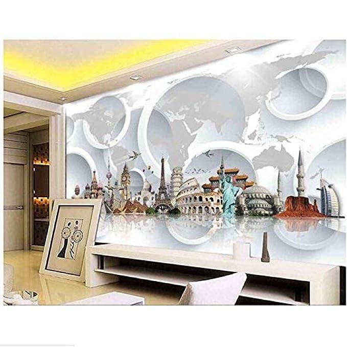 Fondo de pantalla HD 3D Los murales 3D 3D Arquitectura ...
