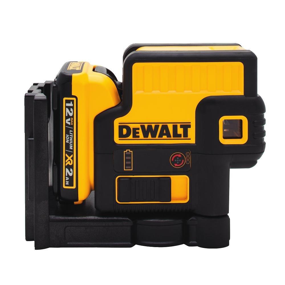 DEWALT DW085LR 12V 5 Spot Laser, Red
