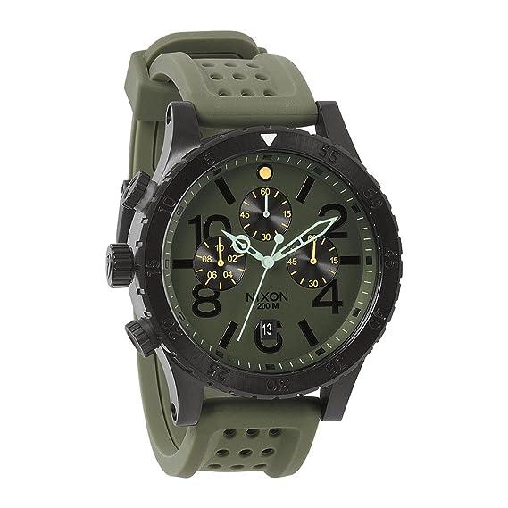 Nixon 48-20 Chrono P Surplus/Black A2781089-00 - Reloj cronógrafo de