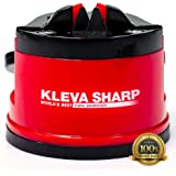KLEVA SHARP NEW USA Patented Knife Sharpener - The quick way to sharpen knives in seconds - 100%