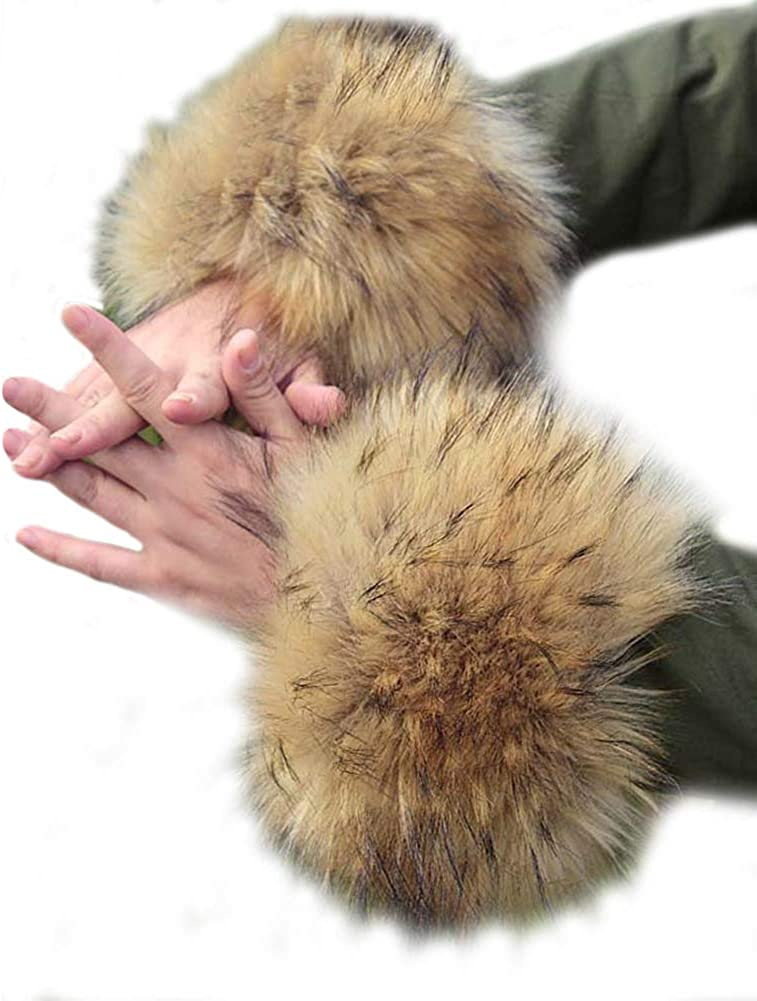 Faux Fur Cuffs Arm Leg...