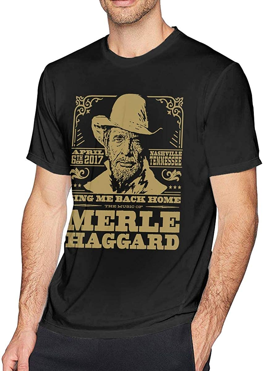 Merle Haggard Shirt Womans Cool T Shirt Clothes Short Sleeve O NeckTops