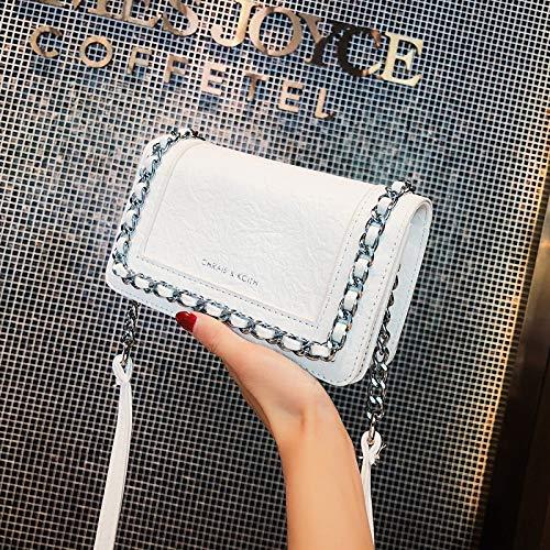 pequeño la Messenger de la Hadas versión Verano Bag Chic de de de Bolso Bolso Cadena Ola Femenino Salvaje Cuadrado Bolso pequeño Coreana 2018 CXxxq1Zw