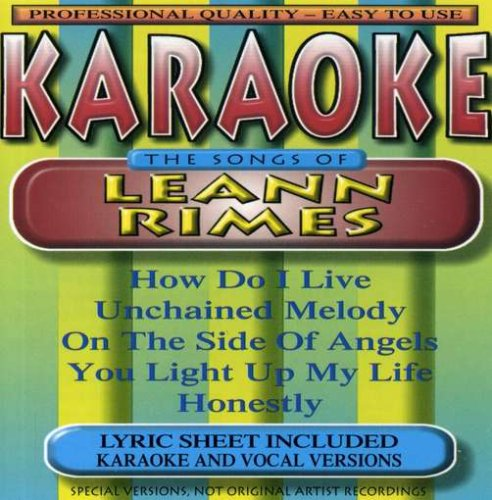 Karaoke: Songs By Leann Rimes by BCI