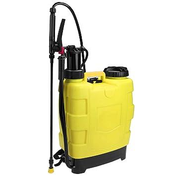 aimado pulverizador mochila portátil (acero y polietileno 51, 5 x 37 x 24 cm para jardín Patio pulverizador a presión ((EU Stock): Amazon.es: Jardín