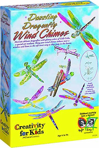 Creativity for Kids Dazzling Dragonfly Wind Chimes Kit