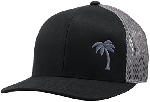 Lindo Trucker Hat - Palm Tree Series - by (Black Graphite) at Amazon ... d52d8df1a16